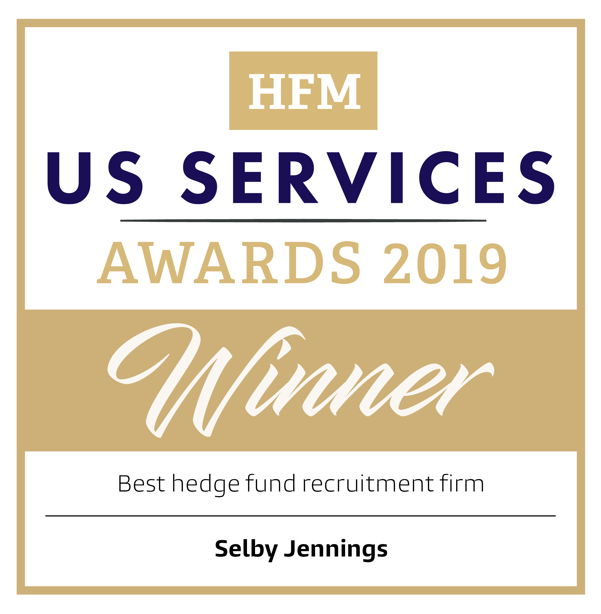 HFM Week Best Hedge Fund Recruitment Firm